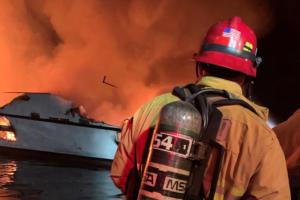Βυθίστηκε το σκάφος που έπιασε φωτιά με 34 άτομα στην Καλιφόρνια