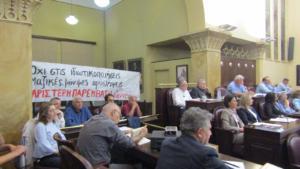 Ιωάννινα: Ένταση και διακοπή στο δημοτικό συμβούλιο