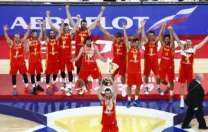 Μουντομπάσκετ 2019: Η απονομή της Ισπανίας! Το σήκωσε ο Ρούντι – video