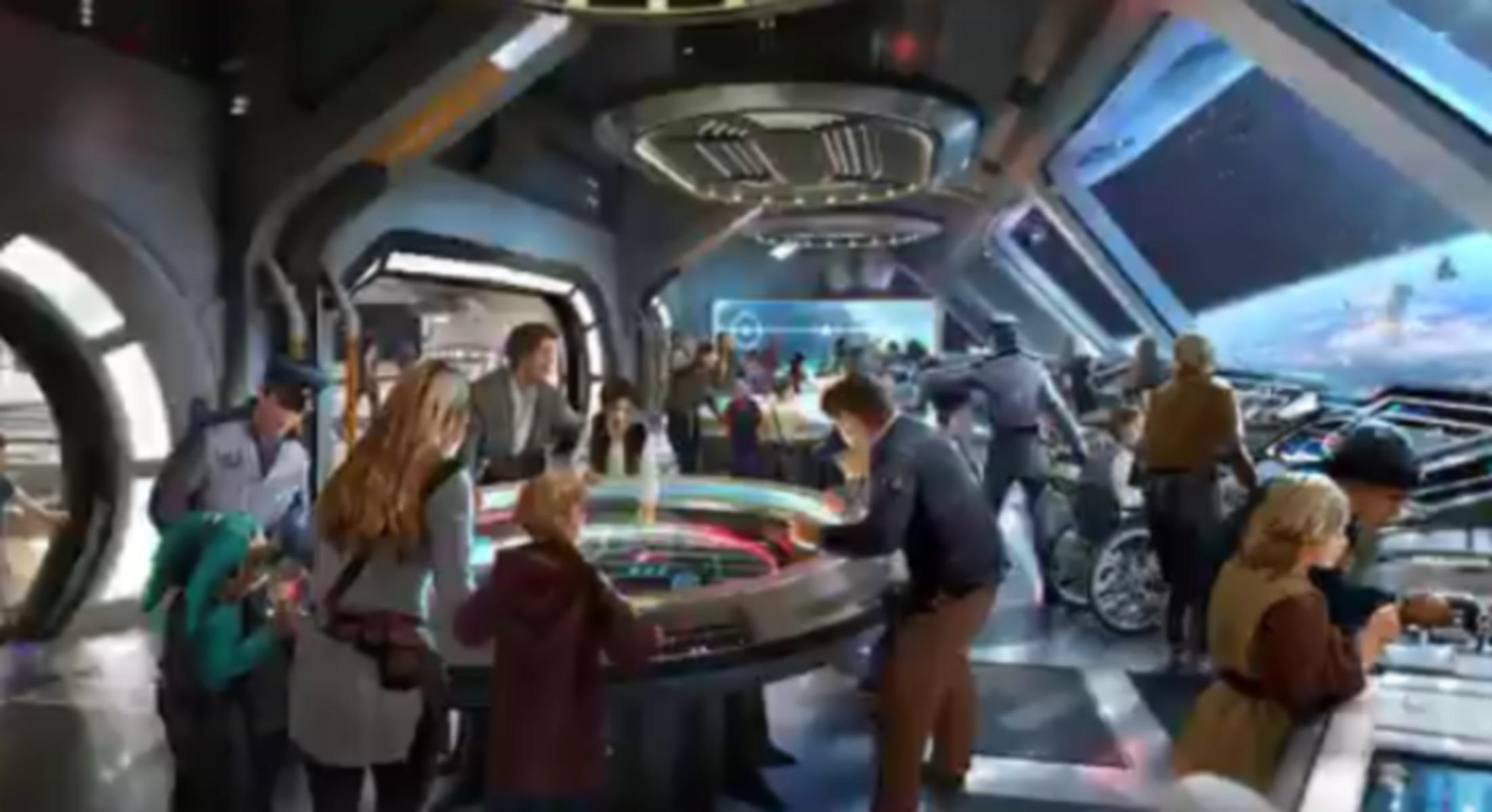 """Έτσι θα είναι το ξενοδοχείο """"Star Wars: Galactic Cruiser"""" της Ντίσνεϊ!"""