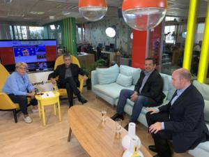 Newsit – σύσκεψη: Ο Λιβάνης, ο Σταϊκούρας και ο Βαρουφάκης