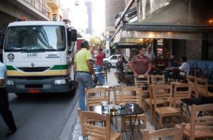 Δήμος Αθηναίων: Παράταση πληρωμής τελών κατάληψης κοινόχρηστων χώρων