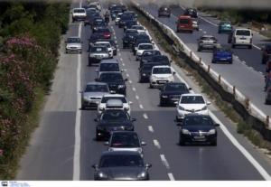 Προσοχή! Μποτιλιάρισμα στην εθνική οδό λόγω τροχαίου στις Αφίδνες