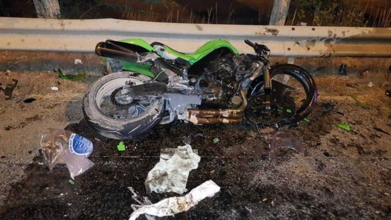 Κρήτη: Ακρωτηριάστηκε οδηγός μηχανής σε φοβερό τροχαίο – Σκληρές εικόνες στην παλιά εθνική οδό [pics]
