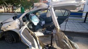 Θεσσαλονίκη: Σοκαριστικό τροχαίο με έναν νεκρό και οκτώ τραυματίες [video, pics]