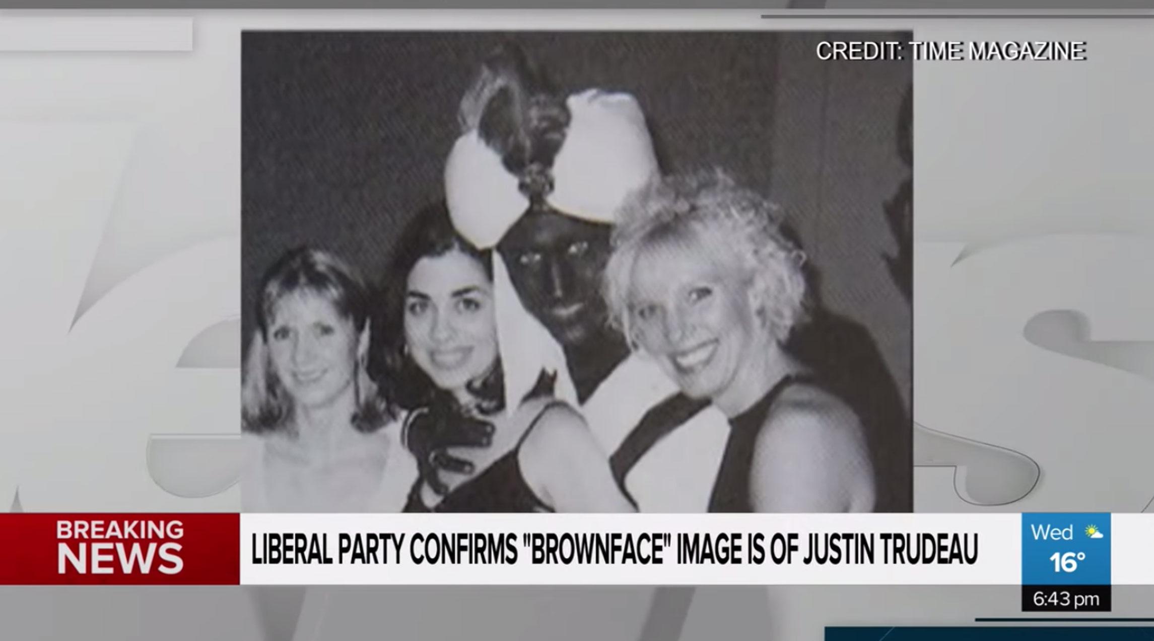 """""""Συγγνώμη"""" Τριντό για τη ρατσιστική φωτογραφία από το παρελθόν"""