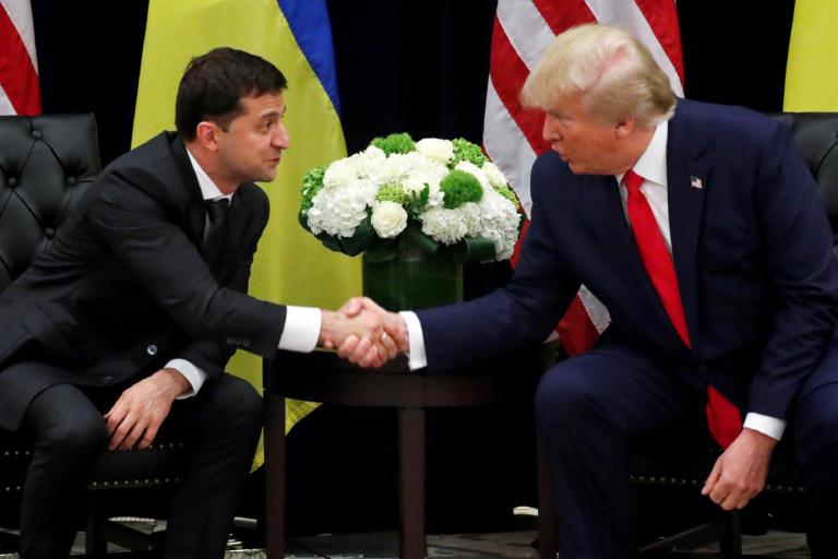 Ζελένσκι: Δεν με εκβίασε ποτέ ο Τραμπ