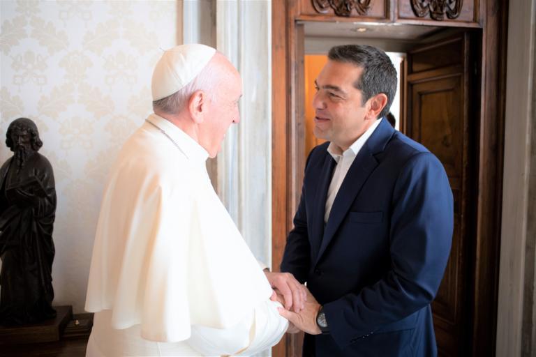 Τσίπρας: Αποθέωση από Πάπα Φραγκίσκο για Συμφωνία των Πρεσπών και προσφυγικό!