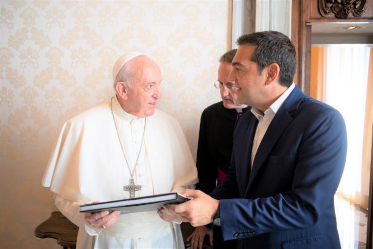 Τσίπρας: Η αφιέρωση του Πάπα Φραγκίσκου με… άρωμα Τρωϊκού Πολέμου!