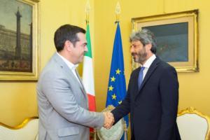 Τσίπρας: Ελληνική οικονομία στο… μενού του στην Ρώμη!