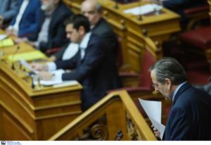 ΣΥΡΙΖΑ: Ο Μητσοτάκης «άδειασε» τον Σαμαρά για τη Novartis