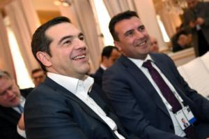 """Τσίπρας – Ζάεφ στα Σκόπια: """"Φίλε μου Ζόραν, φίλε μου Αλέξη…""""! video"""