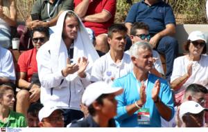Davis Cup: Πρώτη νίκη για Ελλάδα! Σάρωσε ο Τσιτσιπάς