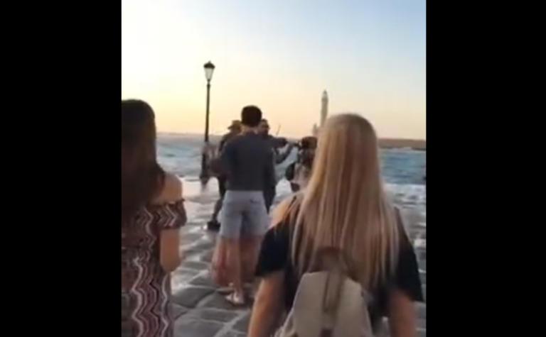 """Χανιά: """"Κόκαλο"""" οι περαστικοί στο Ενετικό Λιμάνι! Αυτό που αντίκρισαν δεν το περίμεναν"""