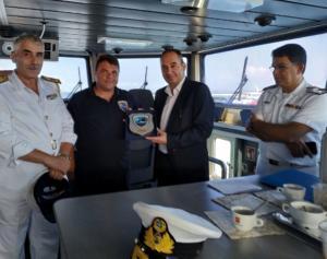 Εντυπωσιακή άσκηση στη Χίο παρουσία του Υπουργού Ναυτιλίας