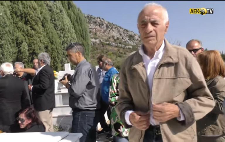 """ΑΕΚ: Η εκδήλωση μνήμης για τον """"Θείο Λουκά"""" Μπάρλο – video"""