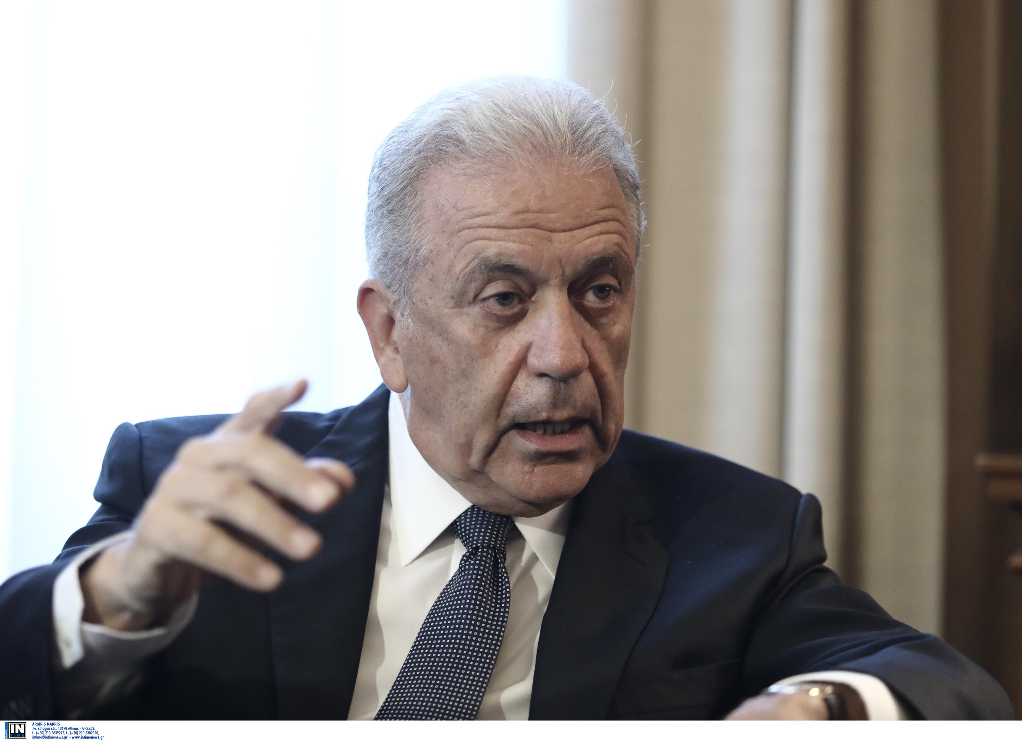 Αβραμόπουλος: Η μετανάστευση δεν μπορεί να επικρατεί στην εσωτερική πολιτική αντιπαράθεση