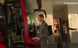 """Ολυμπιακός – Μπάγερν: Οι Βαυαροί αναχώρησαν με όλα τους τα """"αστέρια""""! video"""