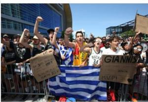 """Μιλγουόκι Μπακς: """"Χρόνια πολλά Ελλάδα, χρόνια καλά Έλληνες!"""""""