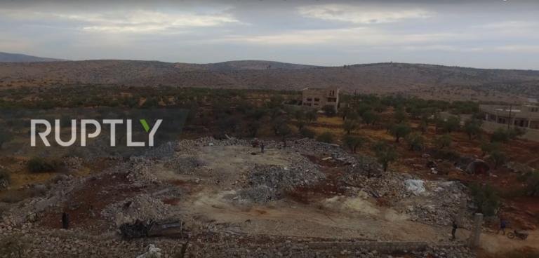 Αμπού Μπακρ αλ Μπαγκντάντι: Ισοπέδωσαν την περιοχή για να εξουδετερώσουν τον αρχηγό του ISIS! video