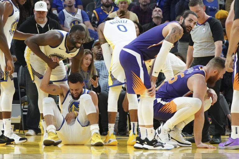 NBA: Γουόριορς… τέλος! Χάνει τη σεζόν και ο Κάρι [pics]