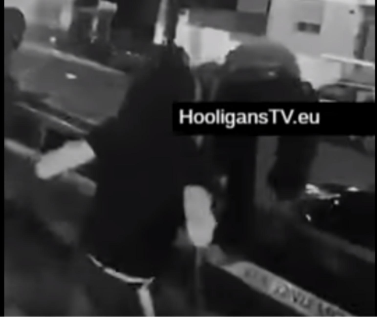 Σοκαριστικό βίντεο από τις συγκρούσεις των χούλιγκαν στα Πετράλωνα!