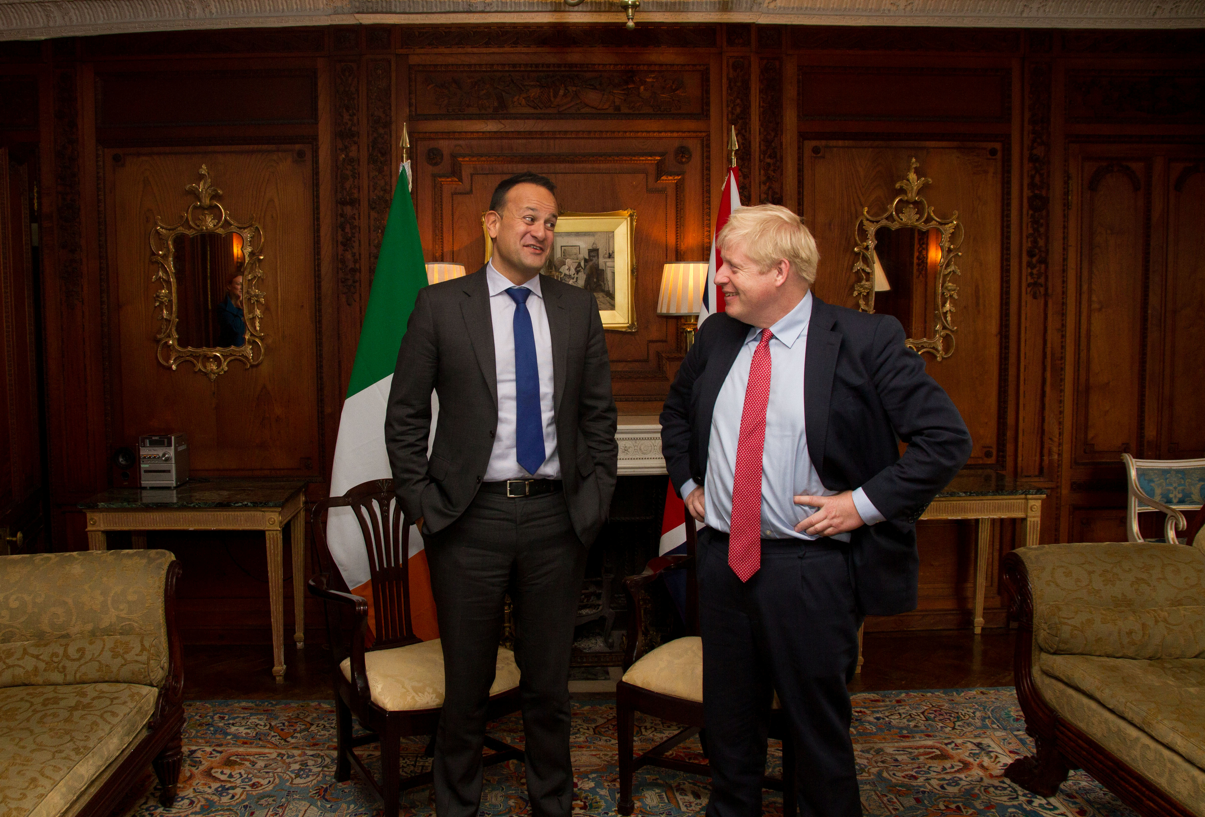 Brexit: Εφικτή μια συμφωνία λένε Τζόνσον και Βαράντκαρ