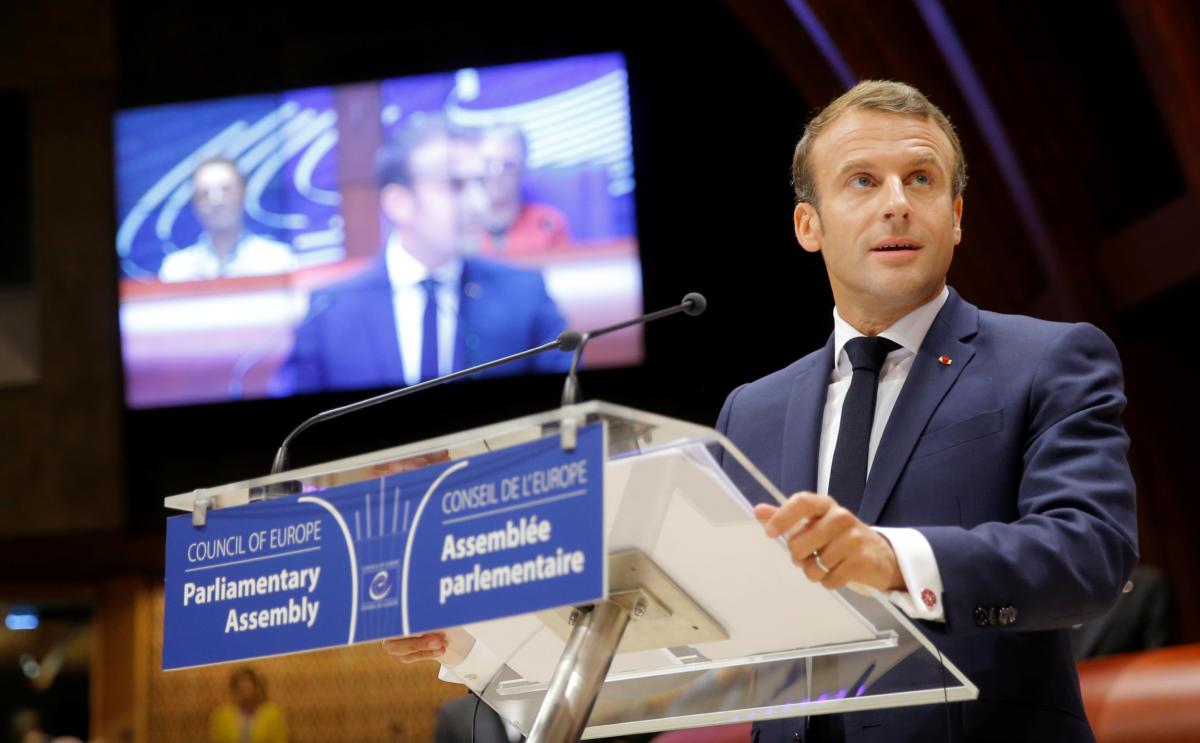 Μακρόν - Συμβούλιο της Ευρώπης