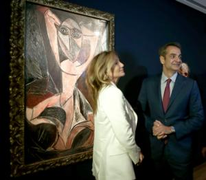 Παυλόπουλος, Μητσοτάκης και Μαρέβα στα εγκαίνια του νέου Μουσείου Γουλανδρή – video