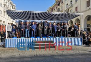 Θεσσαλονίκη: Με πλήθος επισήμων και το «Μακεδονία Ξακουστή» η μαθητική παρέλαση [pics, video]