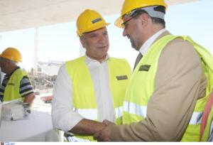 """ΑΕΚ – Πατούλης: """"Στηρίζουμε ανεπιφύλακτα την κατασκευή του νέου γηπέδου"""""""
