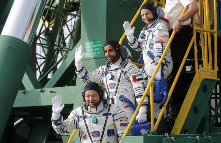 Στριμωξίδι… στον Διεθνή Διαστημικό Σταθμό – Αστροναύτες από τέσσερις διαφορετικές υπηρεσίες!