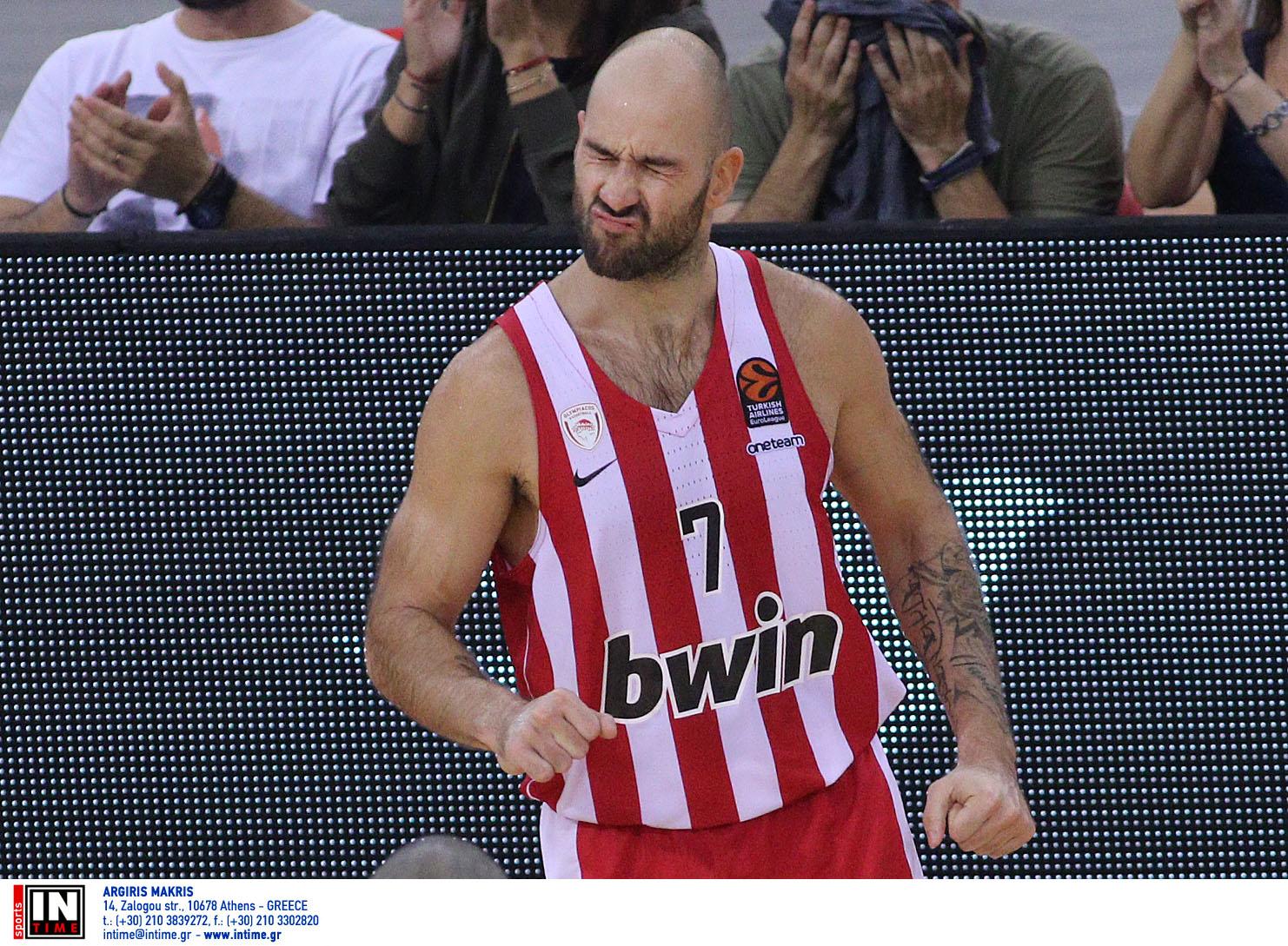 Euroleague: Ο Σπανούλης είναι το τελευταίο μέλος της κορυφαίας ομάδας της δεκαετίας!