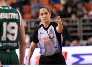 Euroleague: Γράφει ιστορία Ελληνίδα διαιτητής!