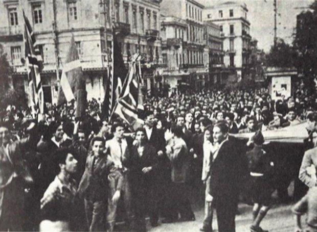 """Η """"αρχή του τέλους"""" της Κατοχής: Η ιστορική 12η Οκτωβρίου του 1944!"""
