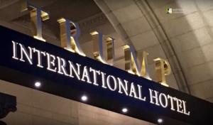 """Διεθνές Ξενοδοχείο Τραμπ: Πωλείται μισό δις δολάρια το """"παλάτι"""" της Ουάσιγκτον! video"""
