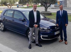 Θεσσαλονίκη: Δώρο της VW στον Ζέρβα – Το ηλεκτρικό αυτοκίνητο που του παραχώρησε [pics]