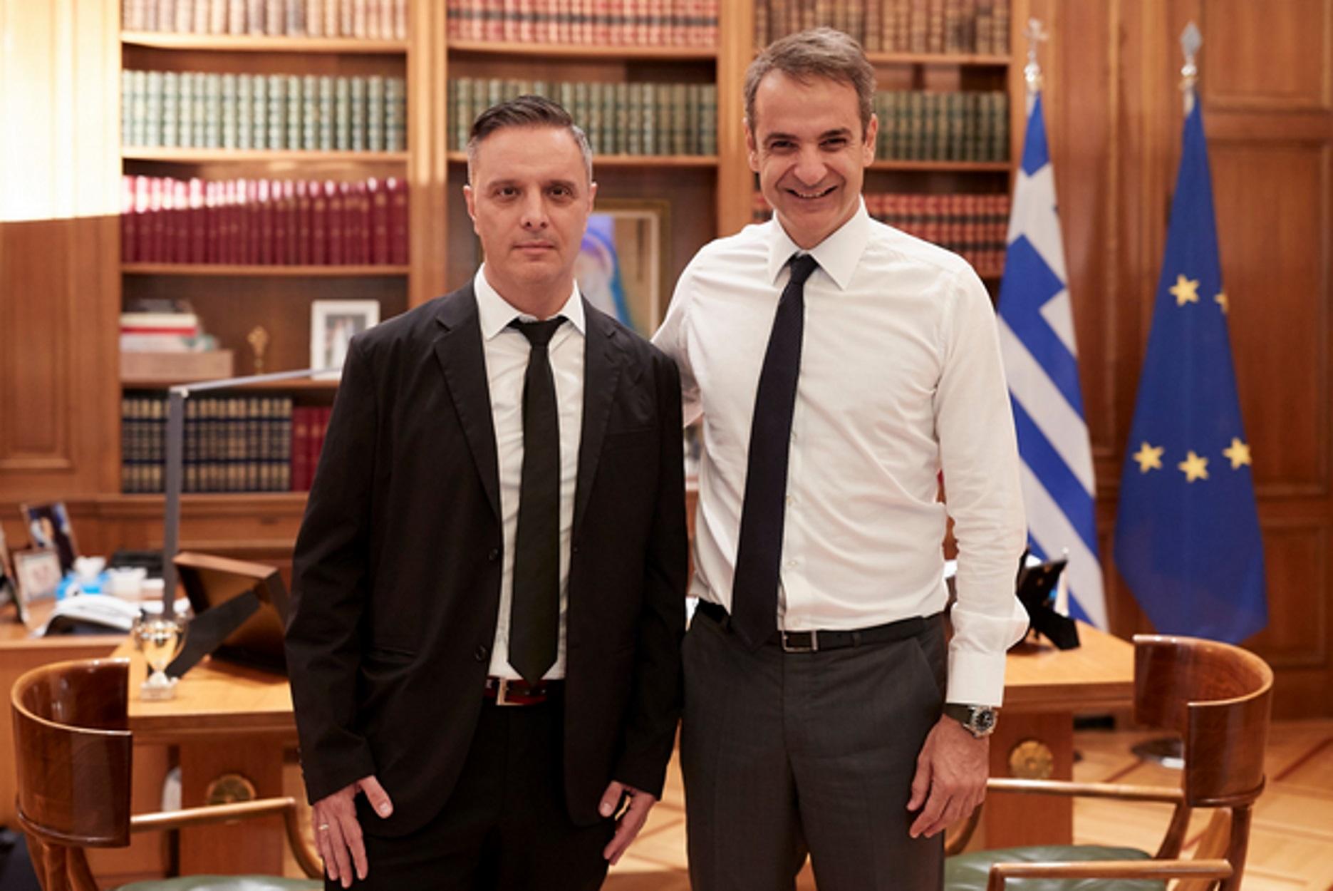 Ο Στηβ Βρανάκης ειδικός σύμβουλος του Κυριάκου Μητσοτάκη