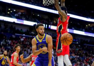 """Έσπασαν το… ρόδι οι Γουόριορς με σούπερ Κάρι και """"τριπλό"""" Γκριν! Τα αποτελέσματα στο NBA – video"""