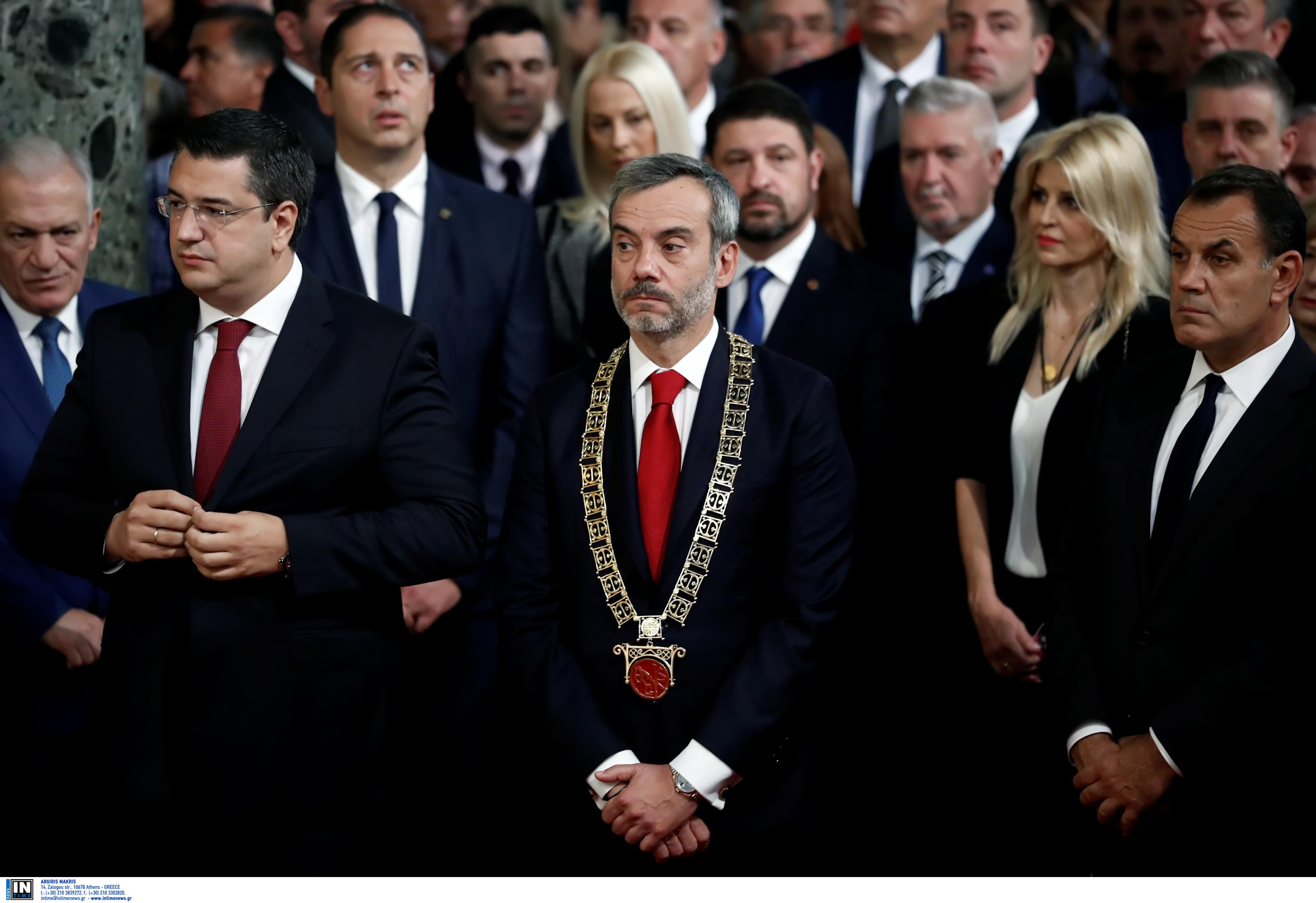 Θεσσαλονίκη: Μηνύματα επισήμων μετά τη δοξολογία στον Άγιο Δημήτριο
