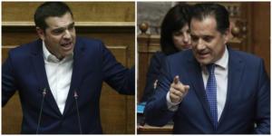 """Βουλή: Άγρια κόντρα Τσίπρα – Γεωργιάδη – """"Είσαι ο Τζόκερ της πολιτικής"""""""