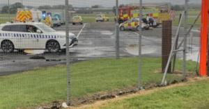 Εκκενώθηκε το αεροδρόμιο στην Γλασκώβη