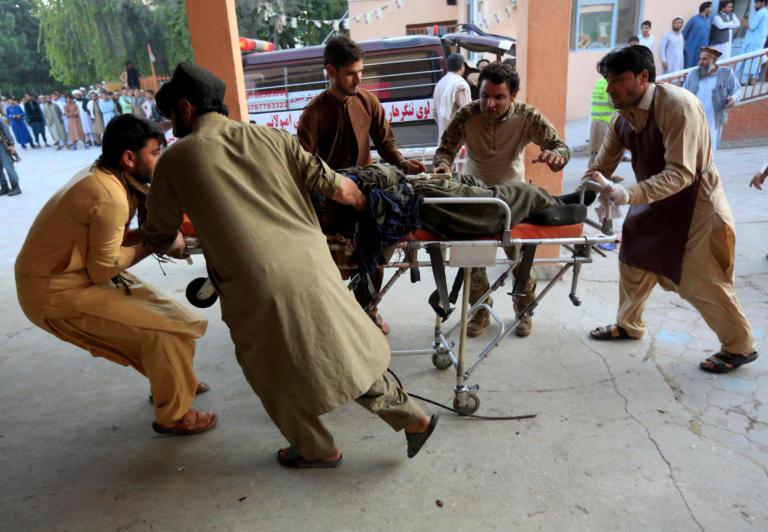 Αφγανιστάν: Τουλάχιστον 17 νεκροί από έκρηξη σε τζαμί