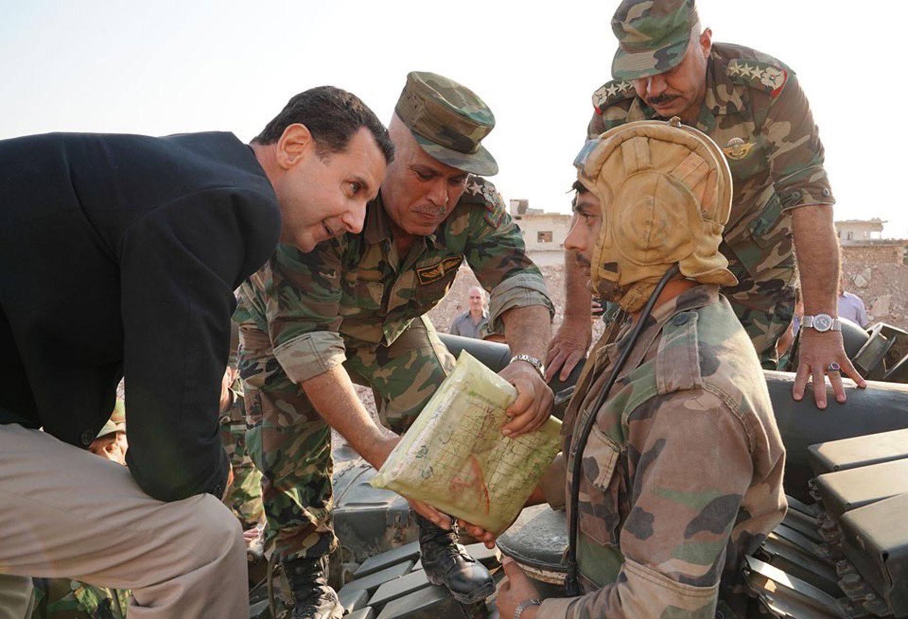 Συρία: Σόου Άσαντ με επίσκεψη στο… μέτωπο της Ιντλίμπ
