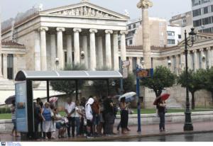Καιρός: Καταιγίδες έως το βράδυ – Πότε θα «χτυπήσει» Αθήνα και Θεσσαλονίκη η κακοκαιρία