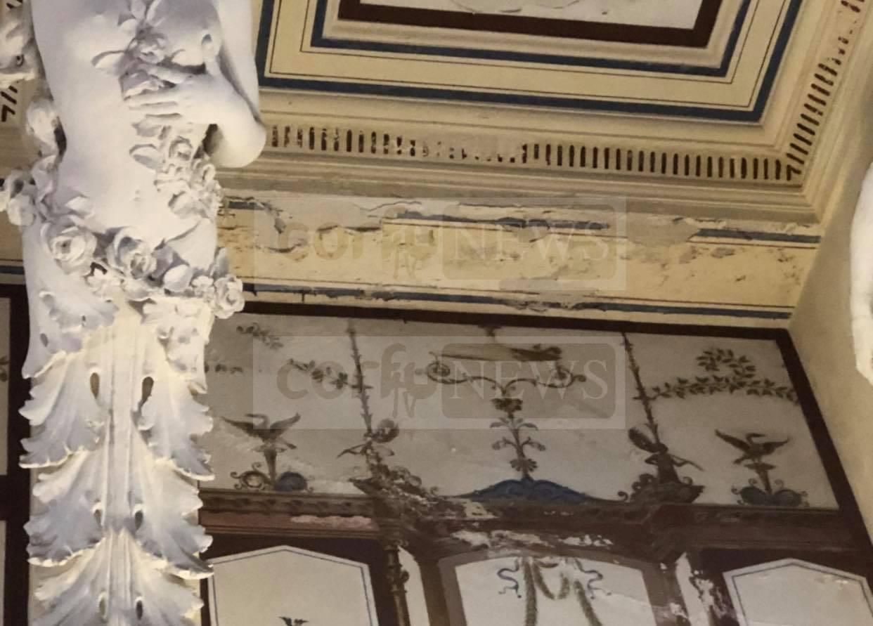 Κέρκυρα: Έτσι κατάντησαν το Αχίλλειο – Νέες εικόνες ντροπής από το παραμυθένιο παλάτι της πριγκίπισσας Σίσσυ [pics]