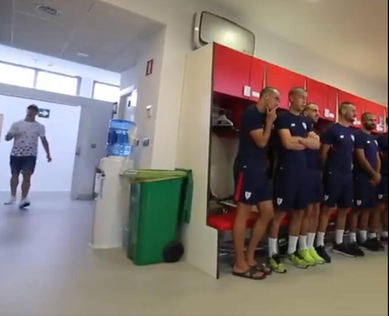 Μπιλμπάο: Η συγκλονιστική κίνηση των ποδοσφαιριστών για τον συμπαίκτη τους με καρκίνο – video