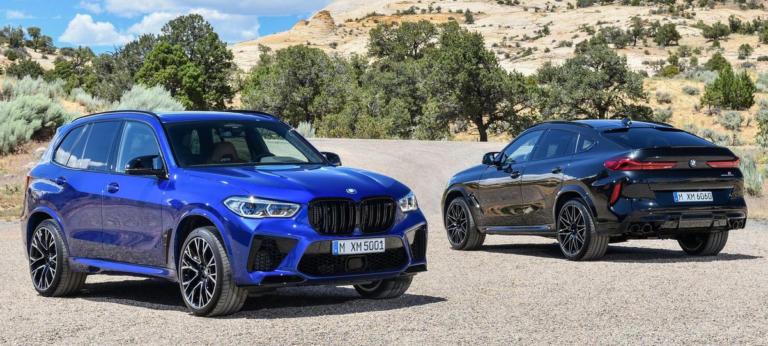 Νέες και ακόμα πιο ισχυρές εκδόσεις για τις BMW X5 M και X6 M [vids]