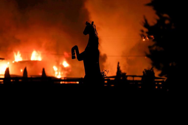 Φωτιές στην Καλιφόρνια: Η σοκαριστική εικόνα από το διάστημα