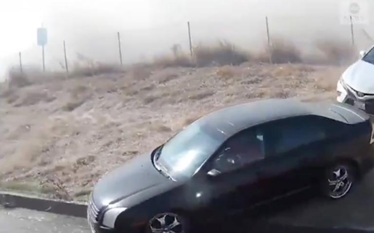 Πολίτης σώζει δεκάδες οδηγούς στην Καλιφόρνια λίγο πριν καούν ζωντανοί! [video]